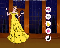 Disney Belle Dress Up