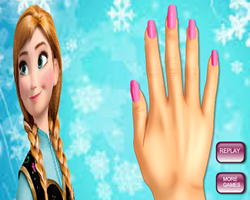 Princess Anna Nails Makeover